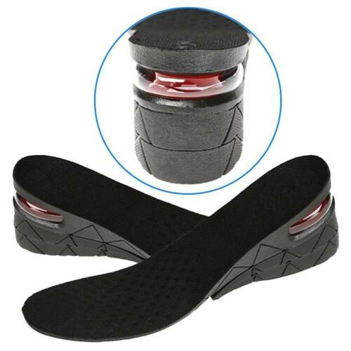 Men Breathable Movement Invisible Heightening Insoles Shoe Pad H