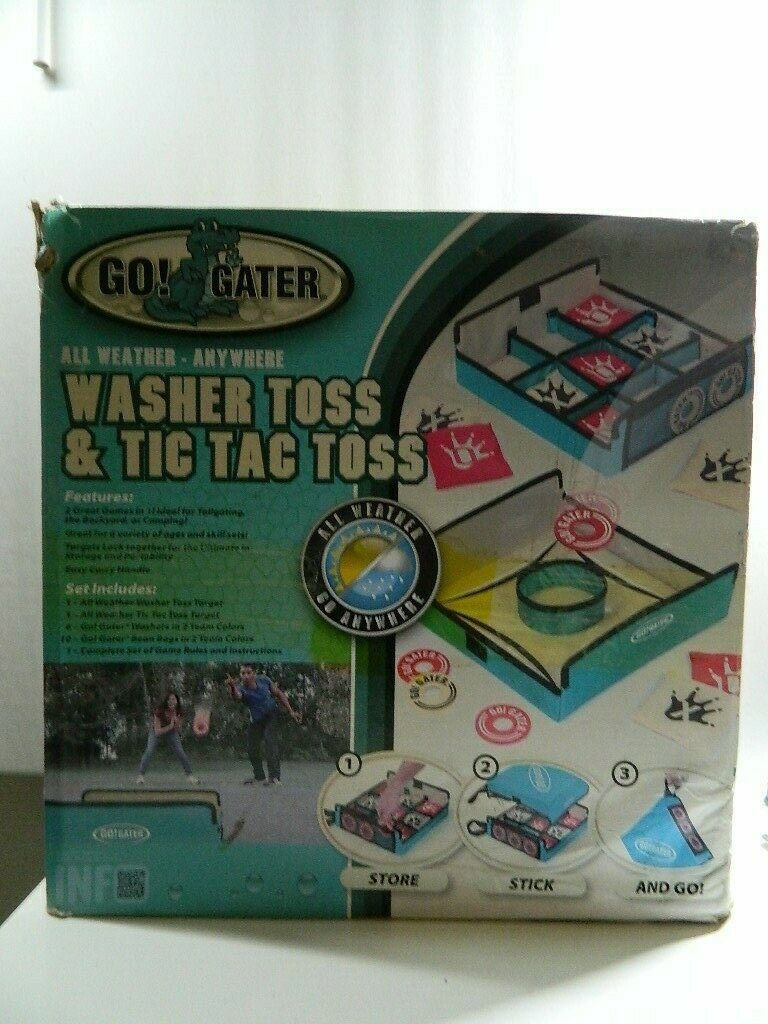 Go Gater  Weatherproof Washer Toss Game Portable Fun Outdoor Game Fabric Material  factory outlet online discount sale