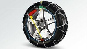 Original-audi-Snow-Chains-Basis-Klasse-for-Tyre-Size-205-60-R16