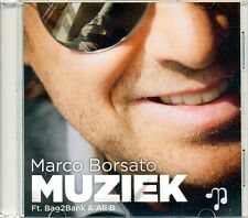 MARCO BORSATO ft BAG2BANK & ALI B - Muziek 2TR ACETATE PROMO CD 2013 DUTCH