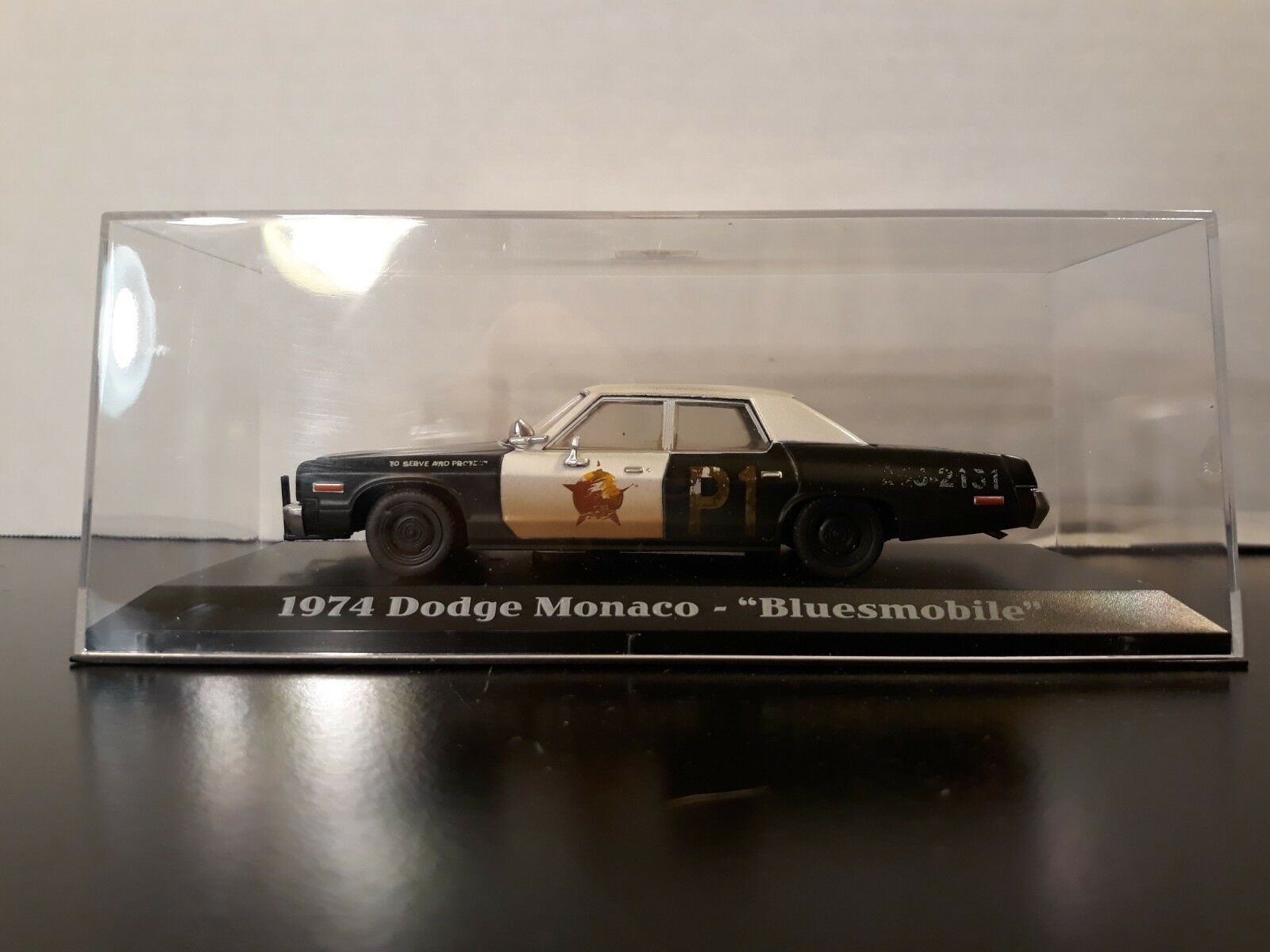 1974 - die Blaus brothers dodge monaco  Blausmobil  mit display - fall