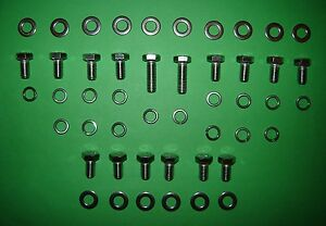 Rover V8 Stainless Sump Pan Bolts Kit
