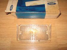 NOS 1971-1972 Ford LTD Galaxie 500 Clear Left Bumper Park Lamp Lens D1AZ-13209-A
