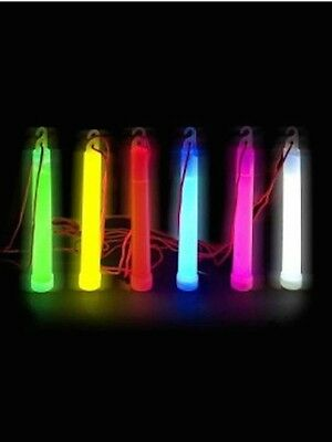 "50x 6"" Glow sticks w/Lanyard"