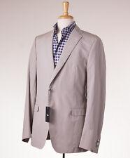 NWT $795 Z ZEGNA Slim 'Drop 8' Lightweight Cotton Sport Coat Eu56L (fits 44 L)