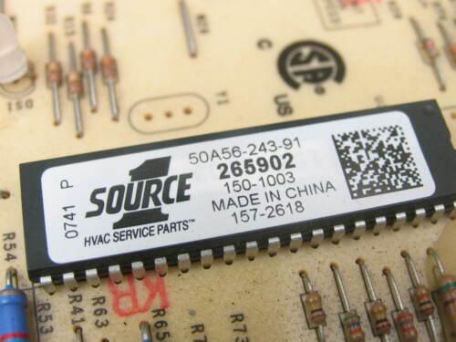 YORK Coleman 265902 Furnace Control Circuit Board 50A56-243 SOURCE 1