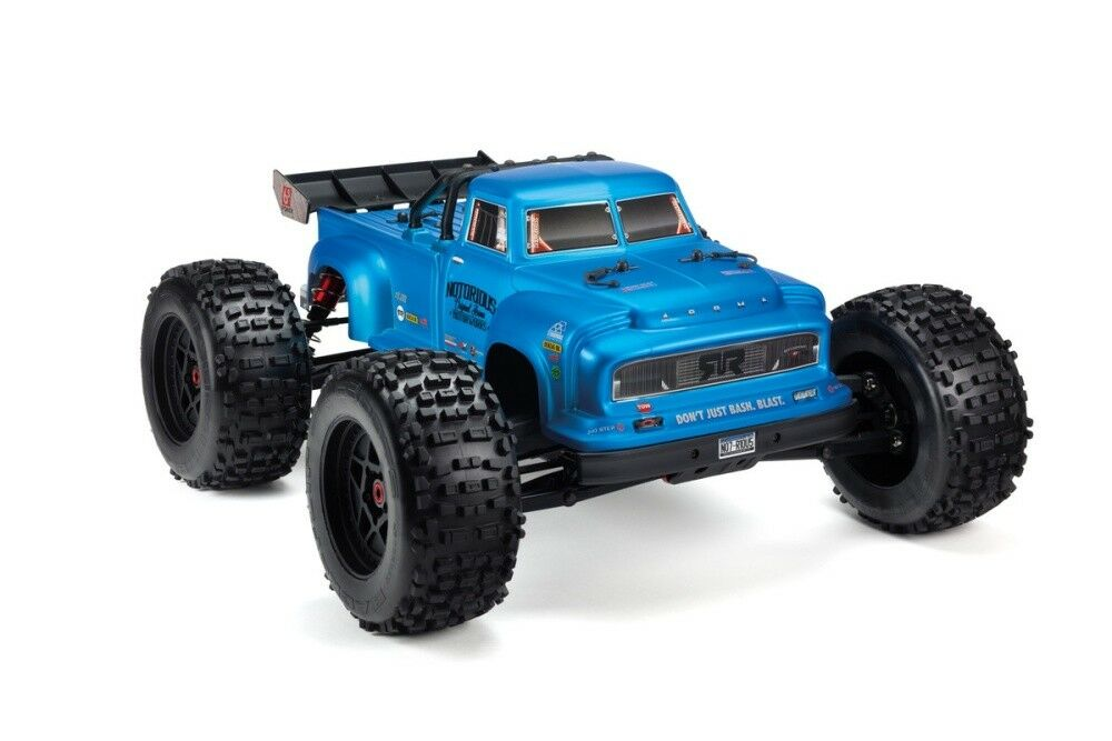 Arrma RC Notorious 6s BLX Body blu Real Steel