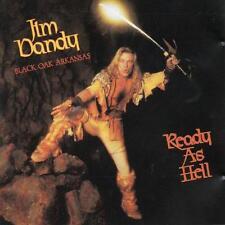 JIM DANDY - READY AS HELL - CD SIGILLATO 2016 BLACK OAK ARKANSAS