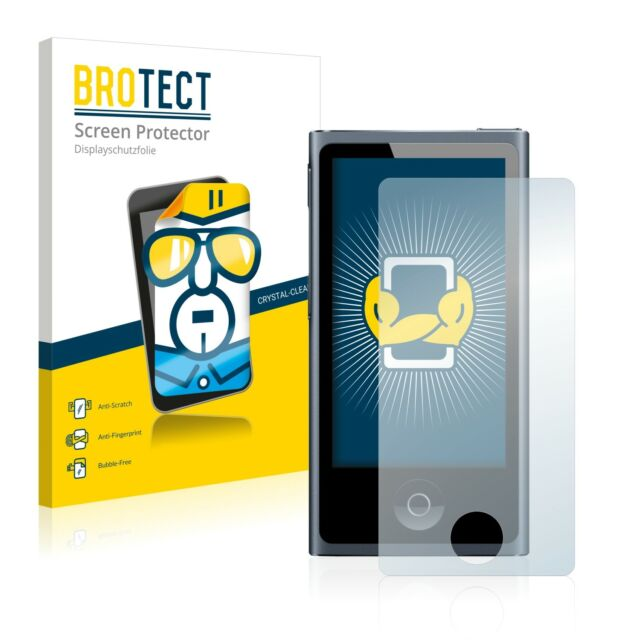 2x BROTECT Screen Protector Apple iPod nano 2012 (7th generation) Protection