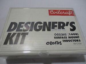 Details about Coilcraft Designer's Kit C124 0603HS 0805HS Surface Mount  Inductors