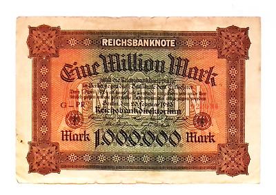 1.000.000.000 mark banknote 1922 Germany Weimar Republic 1 billion