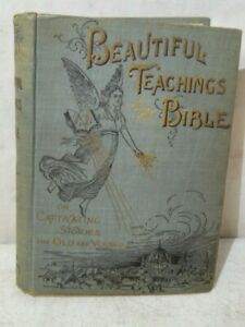 Antique-1895-Beautiful-Teaching-Of-The-Bible-Book-By-Henry-Davenport-amp-Dore