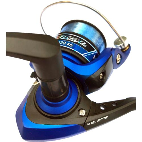 Angelrolle Corral Blue 120FD Frontbremse Spinnrolle Stationärrolle Schnur