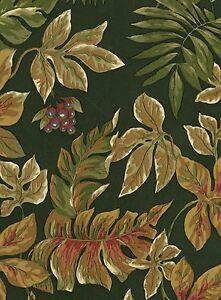 Wallpaper-Art-amp-Crafts-Green-Background-Monkey-amp-Leaves