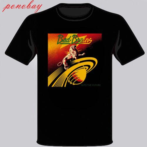 New Bad Brains *Into The Future Punk Rock Band Men/'s Black T-Shirt Size S 3XL