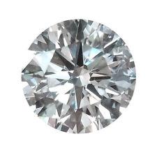 EGL Certified 0.33 Carat G-I1 4.4 MM Round Brilliant Loose White Diamond Layout