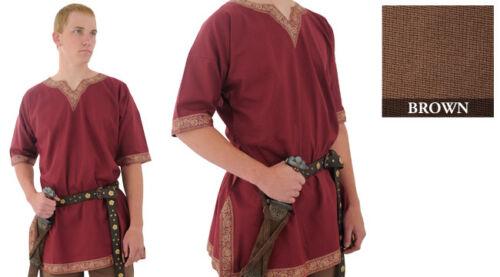 Viking Medieval Tunic renaissance Larp Shirt SCA Costume