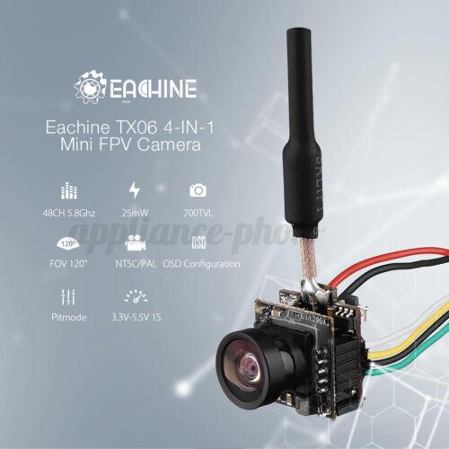Eachine TX06 700TVL FOV 120 Degree 5.8Ghz 48CH Smart Audio Mini FPV Camera UK