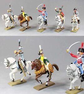 Soldats Empire - Figurines Starlux En Métal