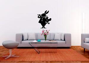 Alice-in-Wonderland-White-Rabbit-Inspired-Home-Wall-Art-Decal-Vinyl-Sticker