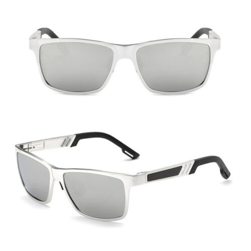 HD Aluminum Men Polarized Driving Sunglasses Sports Mirrored Sun Glasses Eyewear