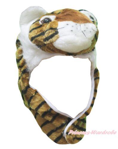 HALLOWEEN BIG CAT TIGER FUN WARM COSTUME HAT MASK H11
