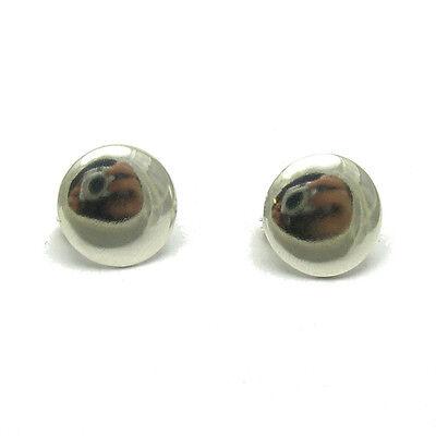 Silber Ohrringe 925 Kreise E000595 Empress
