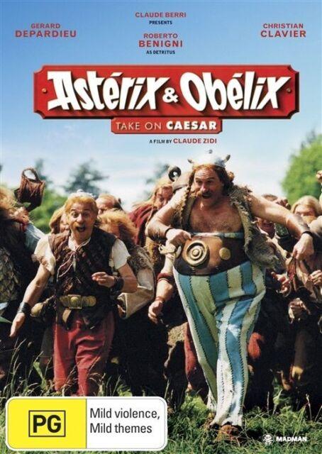 Asterix & Obelix Take On Caesar (DVD, 2006) Brand New! Region 4