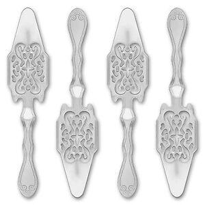 4x-Absinth-Loeffel-Antique-Absinthe-Spoon-Cuillere-a-Absinthe-originale