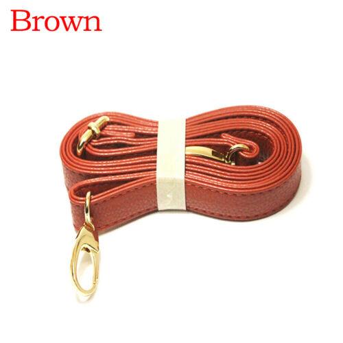 Cinturino sostituibile Cintura in Pelle PU 140cm Cintura Regolabile in Metallo Fibbia Borsa Donna