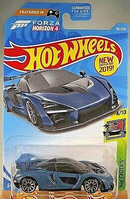 Hot Wheels 2019 McLaren Senna Exotics 4//10 ORANGE FYG22 162//250 neu OVP