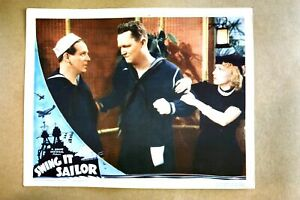 Swing It Sailor lobby card 1937 original