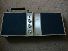 VIntage 8-TRACK Portable PLAYER Automatic Radio Model SEP-9800 Corded or battery