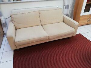 Details zu Cor Conseta 3er Sofa Designer Couch Stoff Beige Klassiker