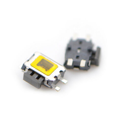 10X YD-3414 4Pin SMD Turtle type Tact Power Side Switch Button LDUK