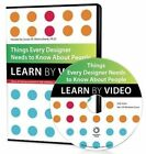 Things Every Designer Needs to Know About People: Learn by Video by Susan Weinschenk (DVD, 2014)