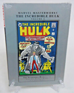 Incredible-Hulk-Volume-1-Collect-1-6-Marvel-Masterworks-HC-Hard-Cover-New-Sealed