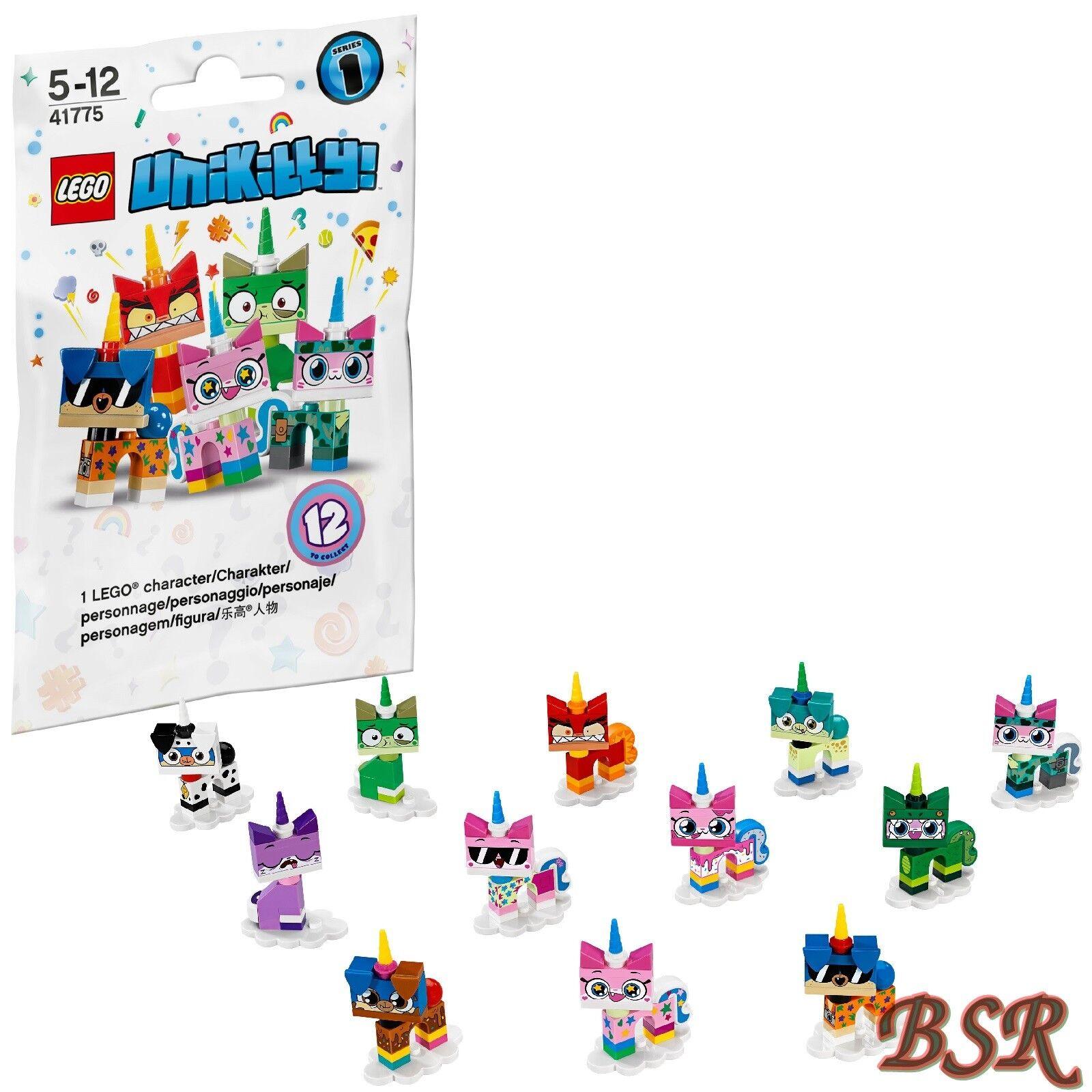 LEGO ® 41775 complet jeu Unikitty série 1 personnages 12 Pièce & 0. - livraison NEUF