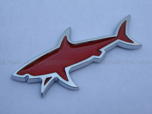 JAWS SHARK CROMATO IDEA REGALO 3D Auto Furgone Muro FRIGO BADGE FORD TRANSIT CONNECT