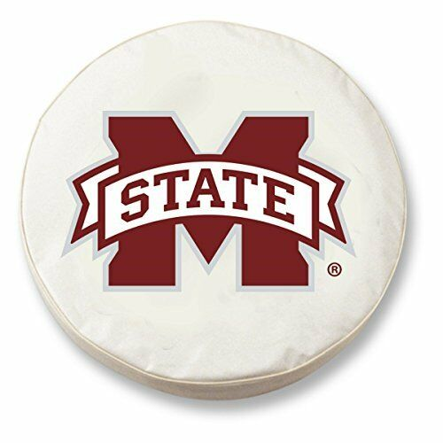 Holland Bar Stool Tcimssstuwt 28 X 8 Mississippi State University Tire Cover Whi