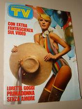 TV SORRISI CANZONI=1976/10=LORETTA GOGGI=FRANCO GASPARRI=ODINO ARTIOLI=GUIDA G.