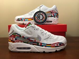 87023755d Nike Air Max 90 NIC QS World Cup International Flag Pack Sz 11.5 ...