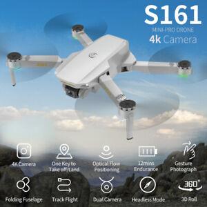 S161 Pro Mini RC Drohne 4K Dual Kamera Optical Flow GPS Quadcopter Selfie Drone