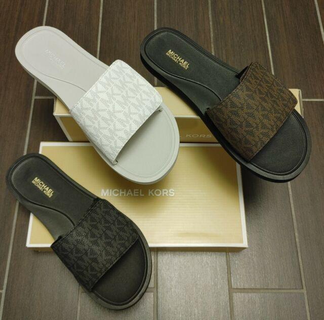 michael kors slide sandals