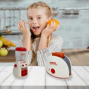 Children Pretend Play Kitchen Appliances Toaster Water Dispenser Set Ebay
