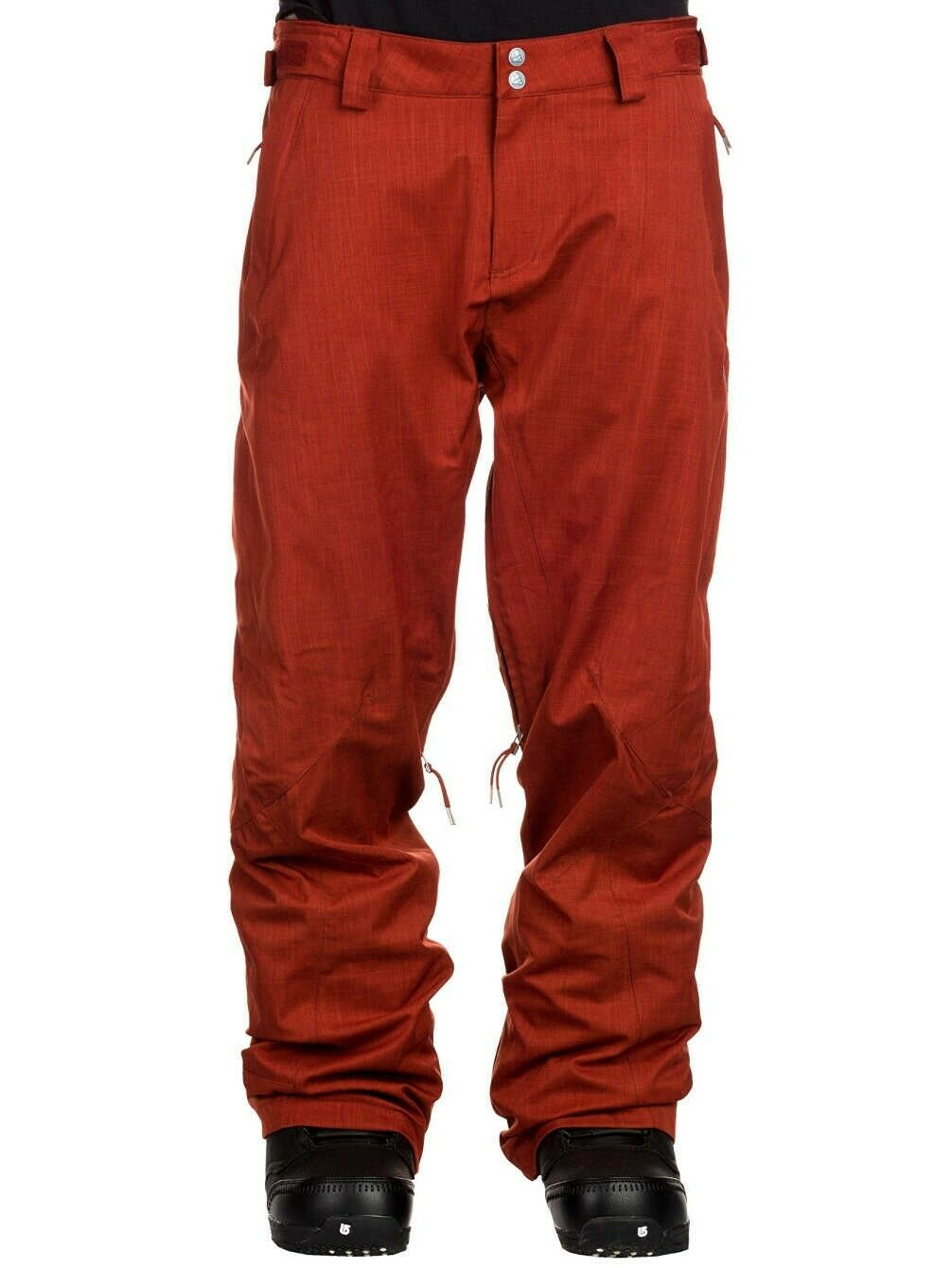 Zimtstern Typer Mash Snowpants Ski Snowboard Pants Men's Chestnut (Rust) New