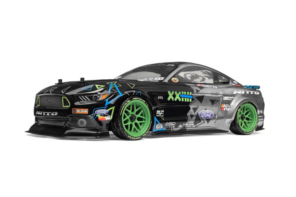 HPI Racing Sport 3 Ford Mustang Gittin 4WD Electric RC Drift Car RTR 115984