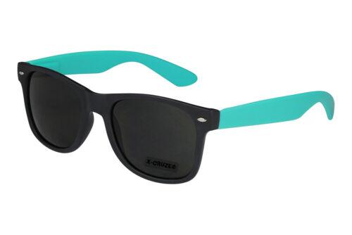 Nerd Sonnenbrille Brille Nerdbrille Retro verspiegelt Herren Damen Männer weiß
