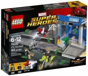 Lego-Boite-Neuve-Super-Heroes-Braquage-de-Banque-ATM-Heist-Bataille-76082-NEW