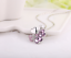 Collana-Donna-Quadrifoglio-Cristallo-Charms-Swarovski-Portafortuna-Regalo-Top miniatura 6
